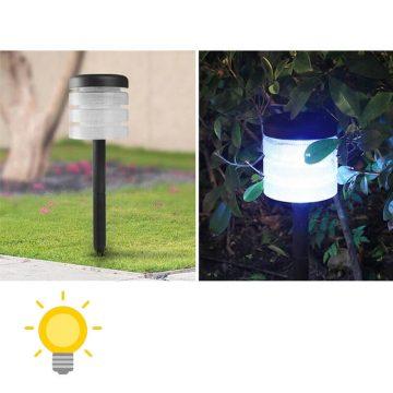 borne solaire exterieur pas cher jardin