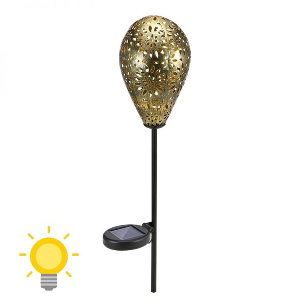 déco lampe solaire jardin