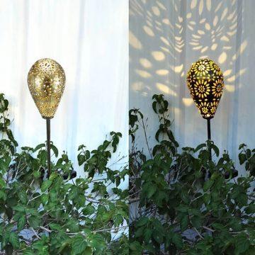 deco lampe solaire jardin exterieur
