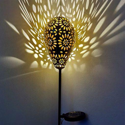 deco lampe solaire jardin led