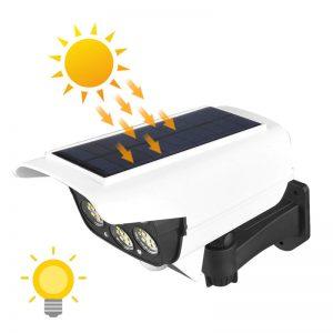 eclairage led solaire avec telecommande exterieur