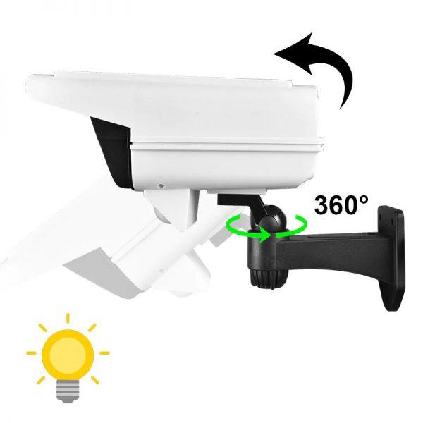 eclairage led solaire avec telecommande puissante