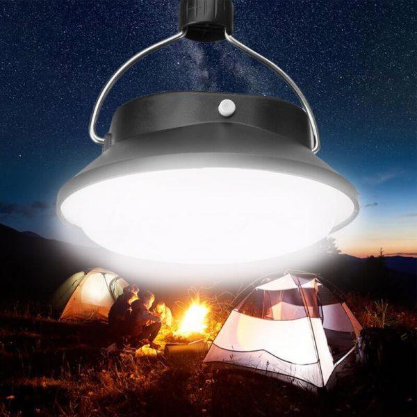 lampe de camping solaire led puissante