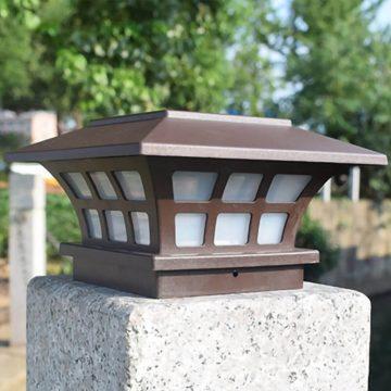 lampe exterieur solaire a poser pilier