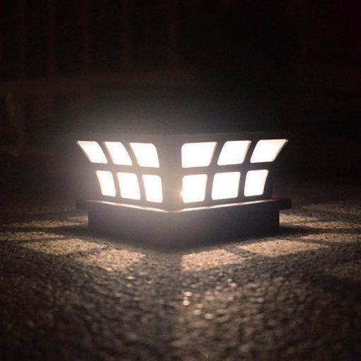 lampe extérieur solaire a poser terrasse