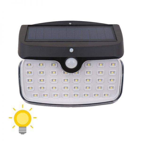 lampe led extérieur detecteur mouvement solaire