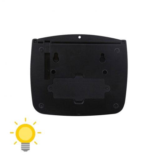 lampe led exterieur detecteur mouvement solaire pas cher