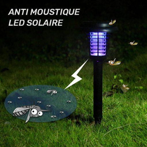 lampe led solaire anti moustique exterieur