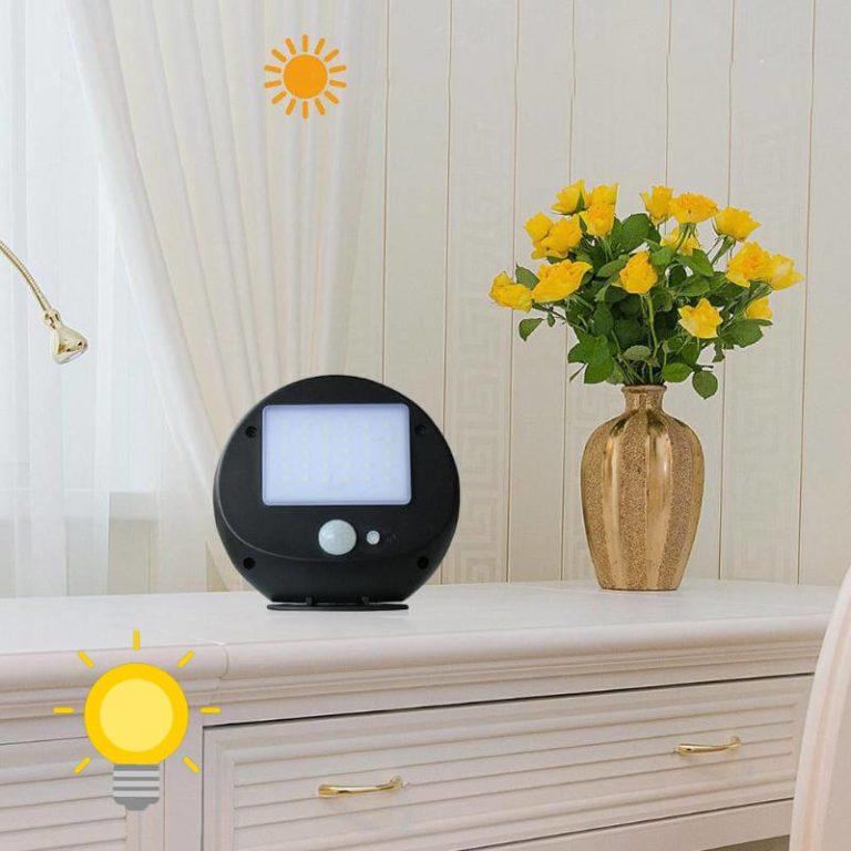 lampe solaire a poser detecteur de mouvement