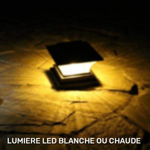 lampe solaire a poser exterieur led