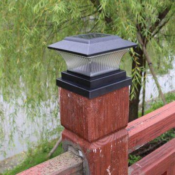 lampe solaire a poser exterieur poteau