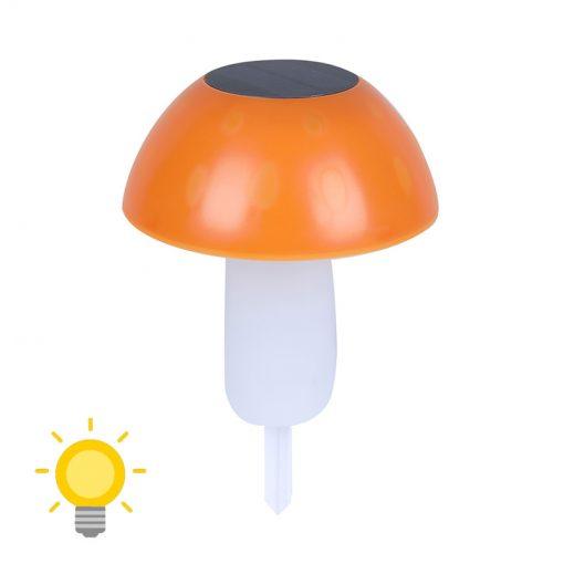 lampe solaire champignon