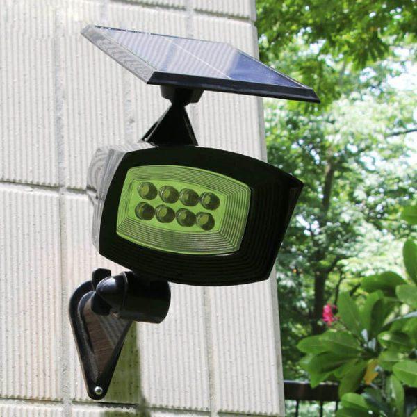 lampe solaire de jardin puissante autonome