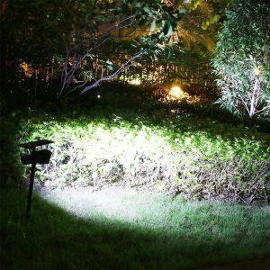 lampe solaire de jardin puissante led min