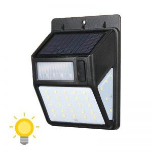lampe solaire détecteur mouvement exterieur