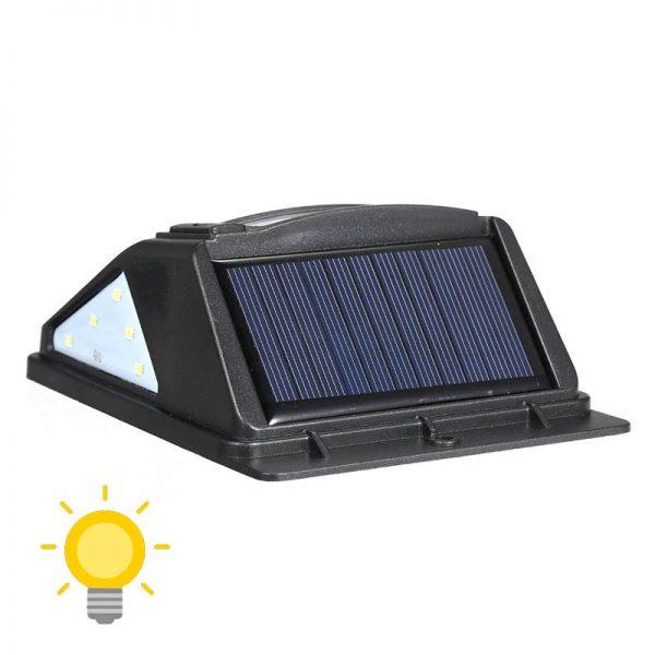 lampe solaire detecteur mouvement exterieur led
