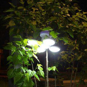 lampe solaire exterieur a suspendre puissante