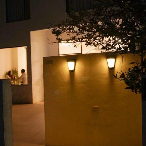 lampe solaire murale jardin puissant