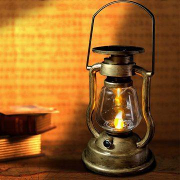 lanterne ancienne solaire exterieur
