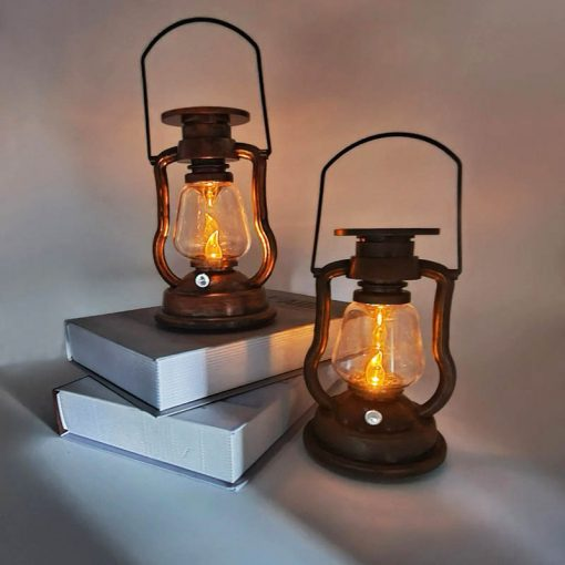 lanterne ancienne solaire led
