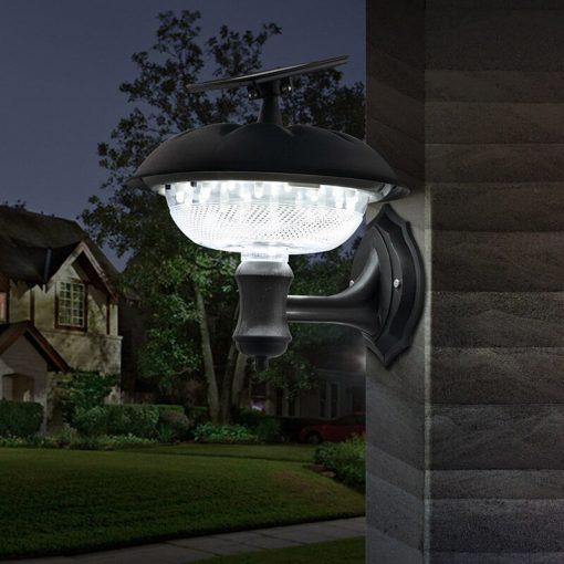 lanterne exterieure murale solaire led