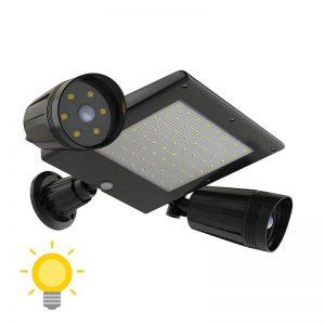 projecteur à led extérieur solaire