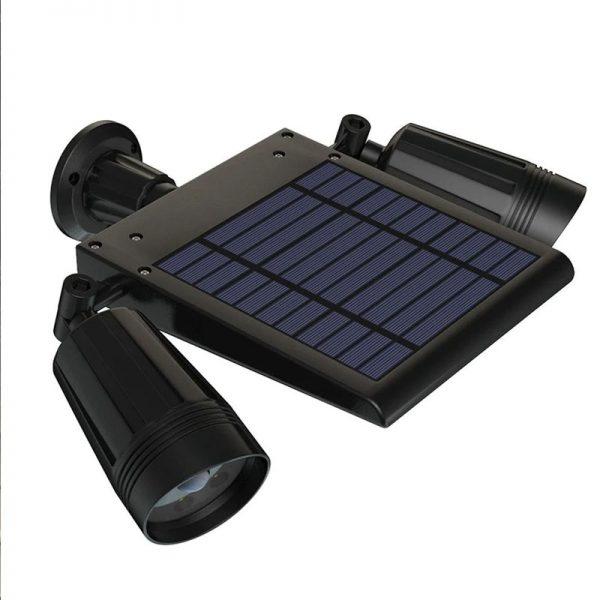 projecteur à LED exterieur solaire terrasse