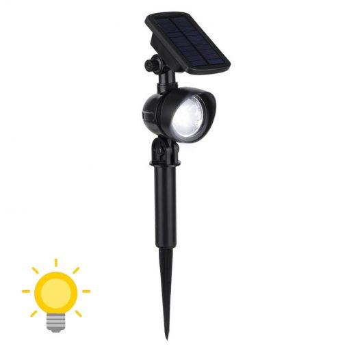 spot éclairage solaire extérieur avec detecteur de mouvement