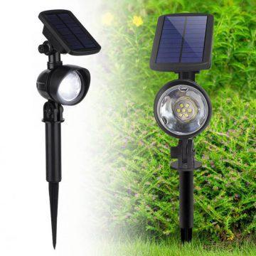 spot eclairage solaire exterieur avec detecteur de mouvement puissant