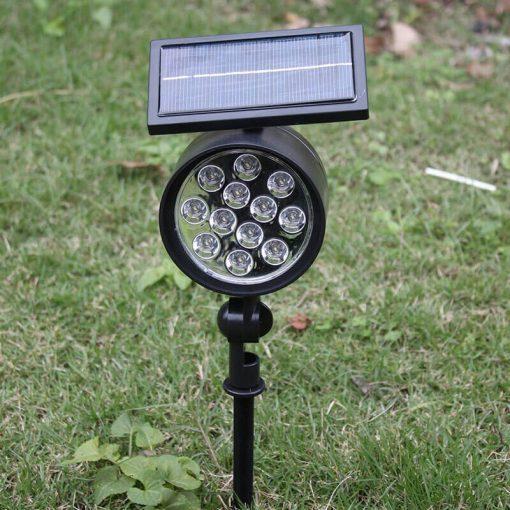 spot led solaire a planter puissant