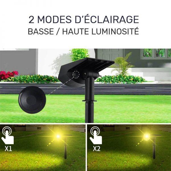 spot solaire autonome LED