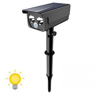 spot solaire détecteur mouvement extérieur