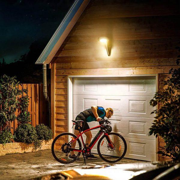 applique exterieur solaire design jardin