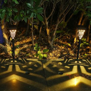 borne lumineuse jardin solaire exterieur