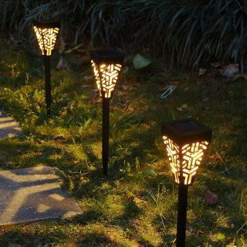 borne lumineuse jardin solaire led