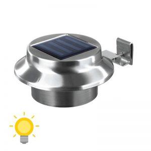 eclairage solaire gouttiere