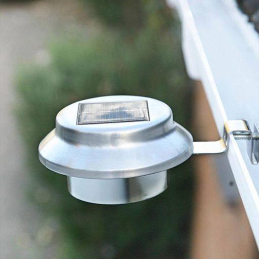 eclairage solaire gouttiere puissante