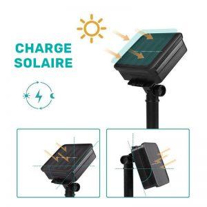 guirlandes boules noel solaires automatique