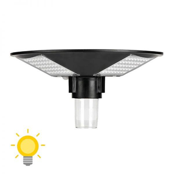 lampadaire extérieur solaire puissant
