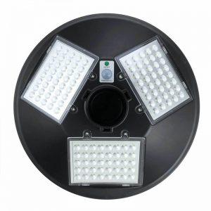 lampadaire exterieur solaire puissant detecteur de mouvement