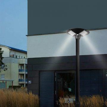 lampadaire exterieur solaire puissant urbain