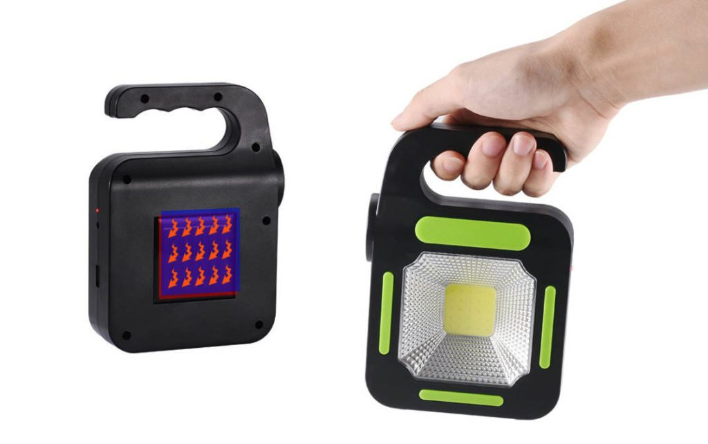 lampe solaire camping portable