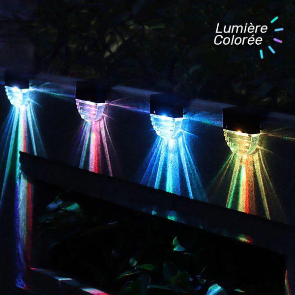 lampe solaire exterieur pour escalier jardin