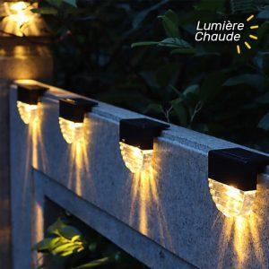 lampe solaire exterieur pour escalier led