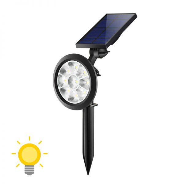 spot led solaire pour jardin