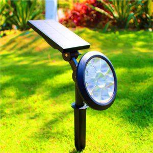 spot led solaire pour jardin autonome