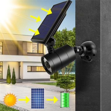 spot mural exterieur solaire jardin