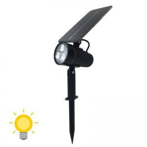 spot pour jardin solaire