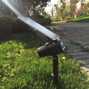 spot pour jardin solaire led