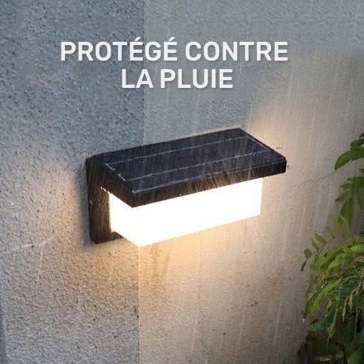 applique murale exterieur solaire LED